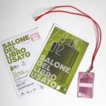 Salone del Libro Usato: identity 2013